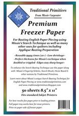 Traditional Primitives Freezer Paper - 50 vel