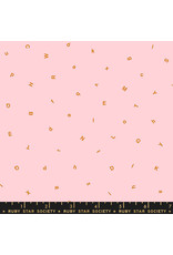 Ruby Star Society Anagram - Letters Pink