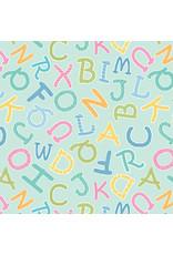 Contempo My Little Sunshine 2 - Alphabet Toss Turquoise