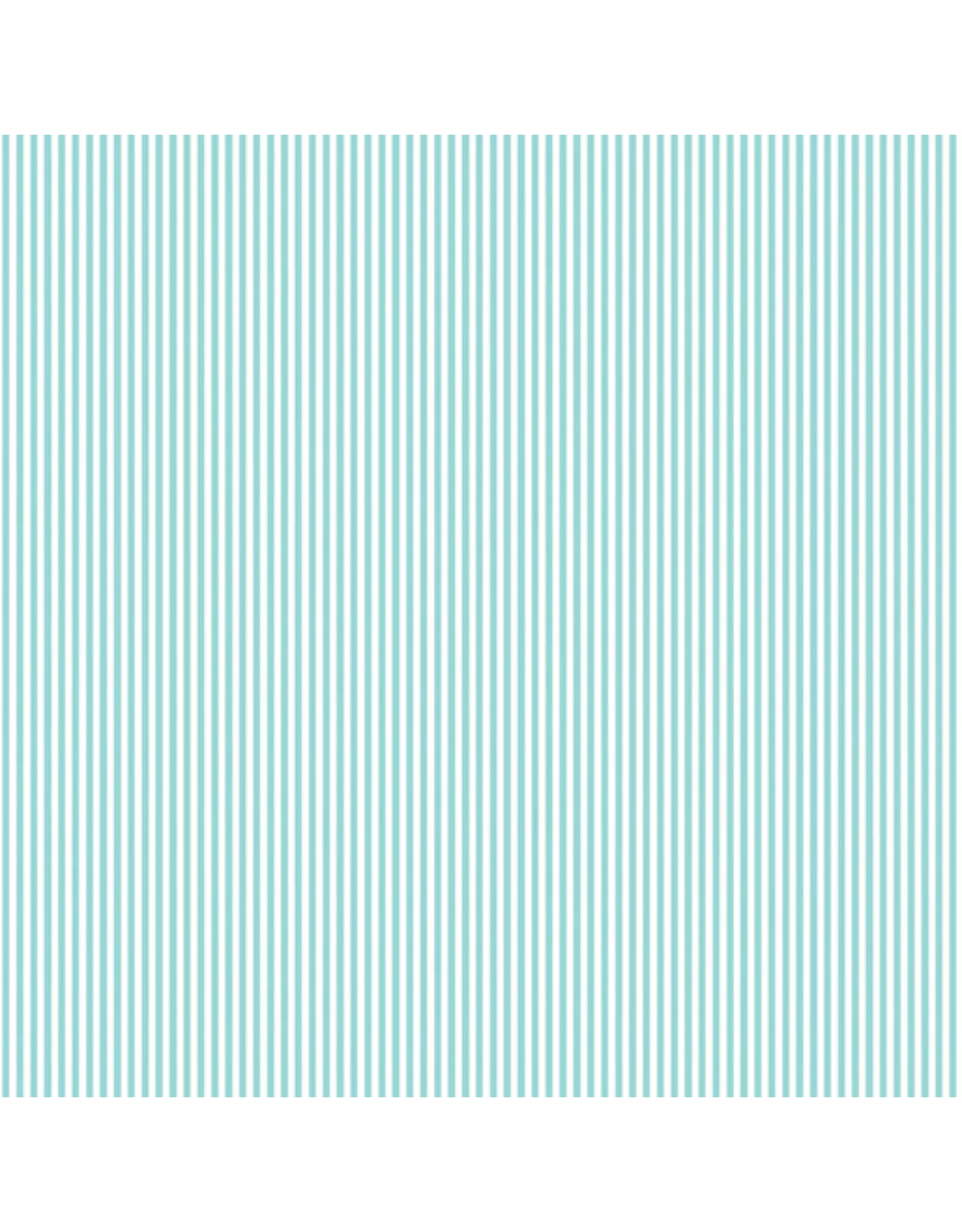 Contempo My Little Sunshine 2 - Pinstripe Turquoise