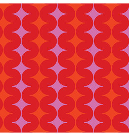 Contempo Geo Pop - Diamond Pop Red