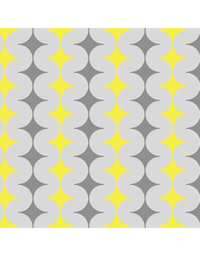 Contempo Geo Pop - Diamond Pop Gray/Yellow