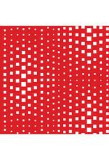 Contempo Geo Pop - Op Squares Red