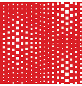 Contempo Geo Pop - Op Squares Red