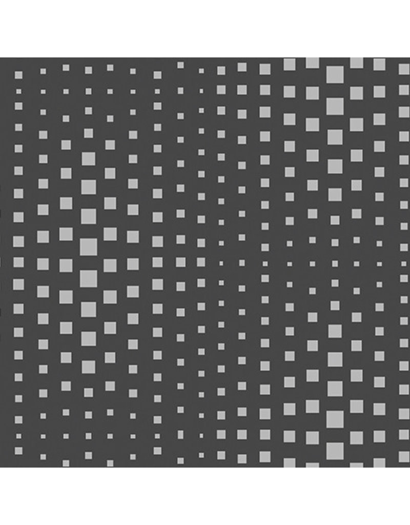 Contempo Geo Pop - Op Squares Charcoal