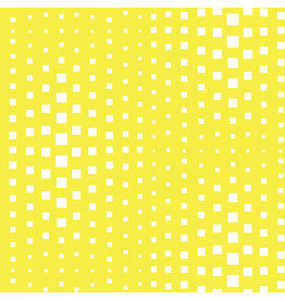 Contempo Geo Pop - Op Squares Yellow