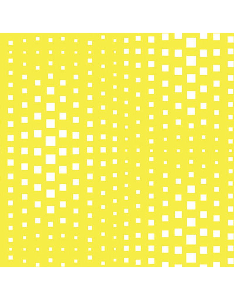 Contempo Geo Pop - Op Squares Yellow