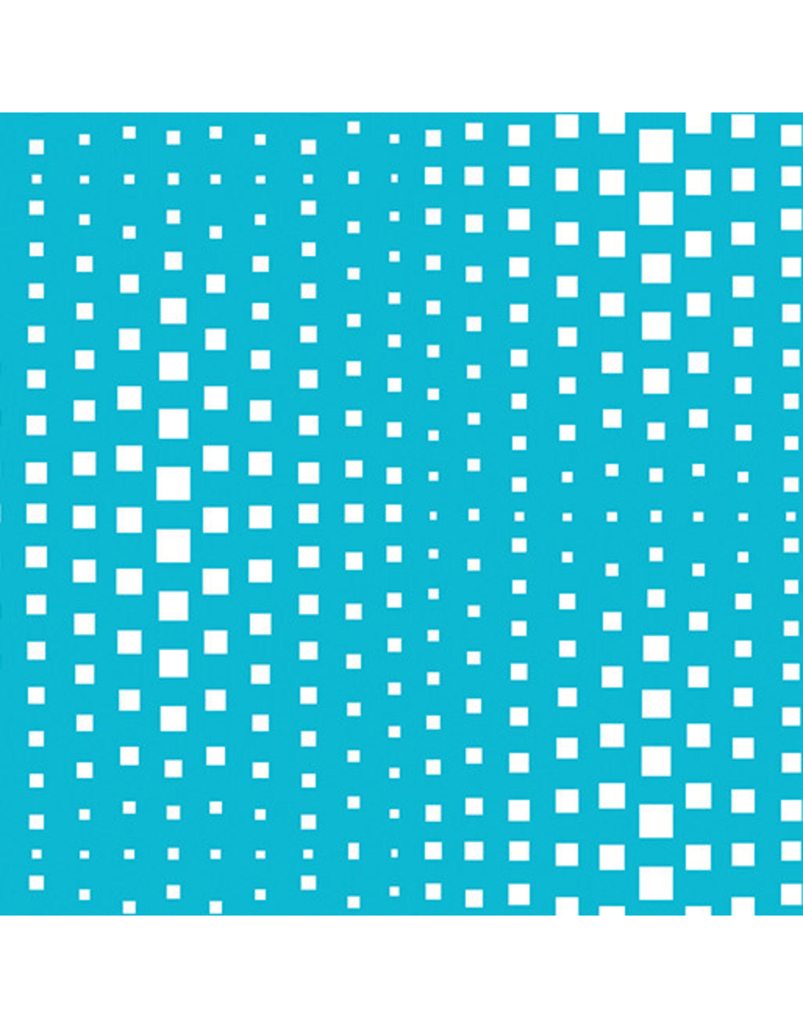 Contempo Geo Pop - Op Squares Turquoise