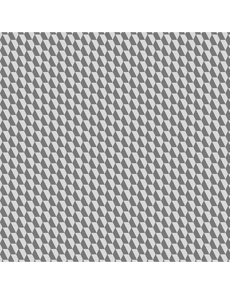 Contempo Geo Pop - Tiny Hex Gray