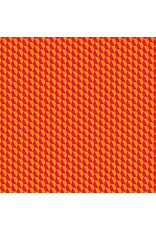 Contempo Geo Pop - Tiny Hex Red/Orange