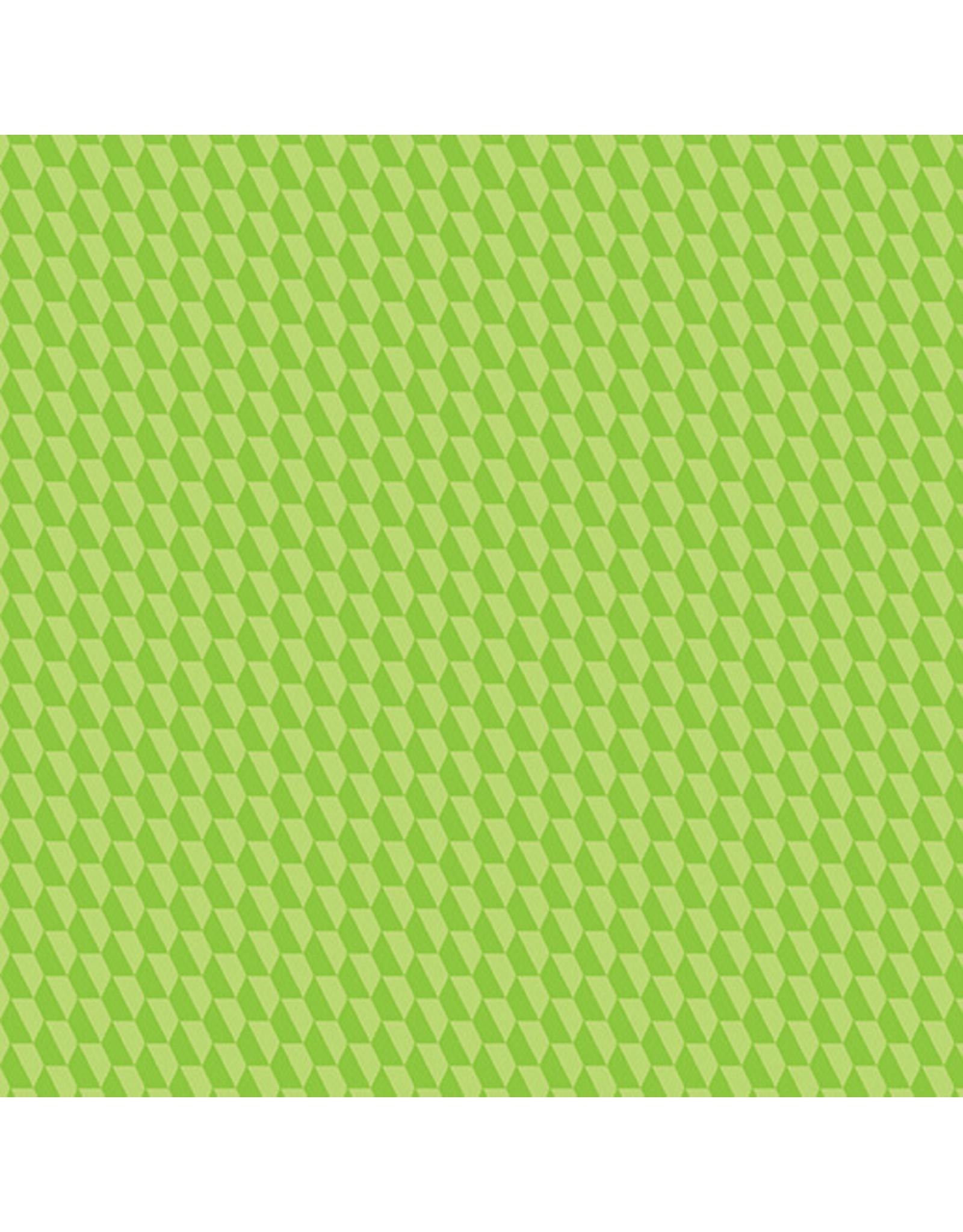 Contempo Geo Pop - Tiny Hex Lime