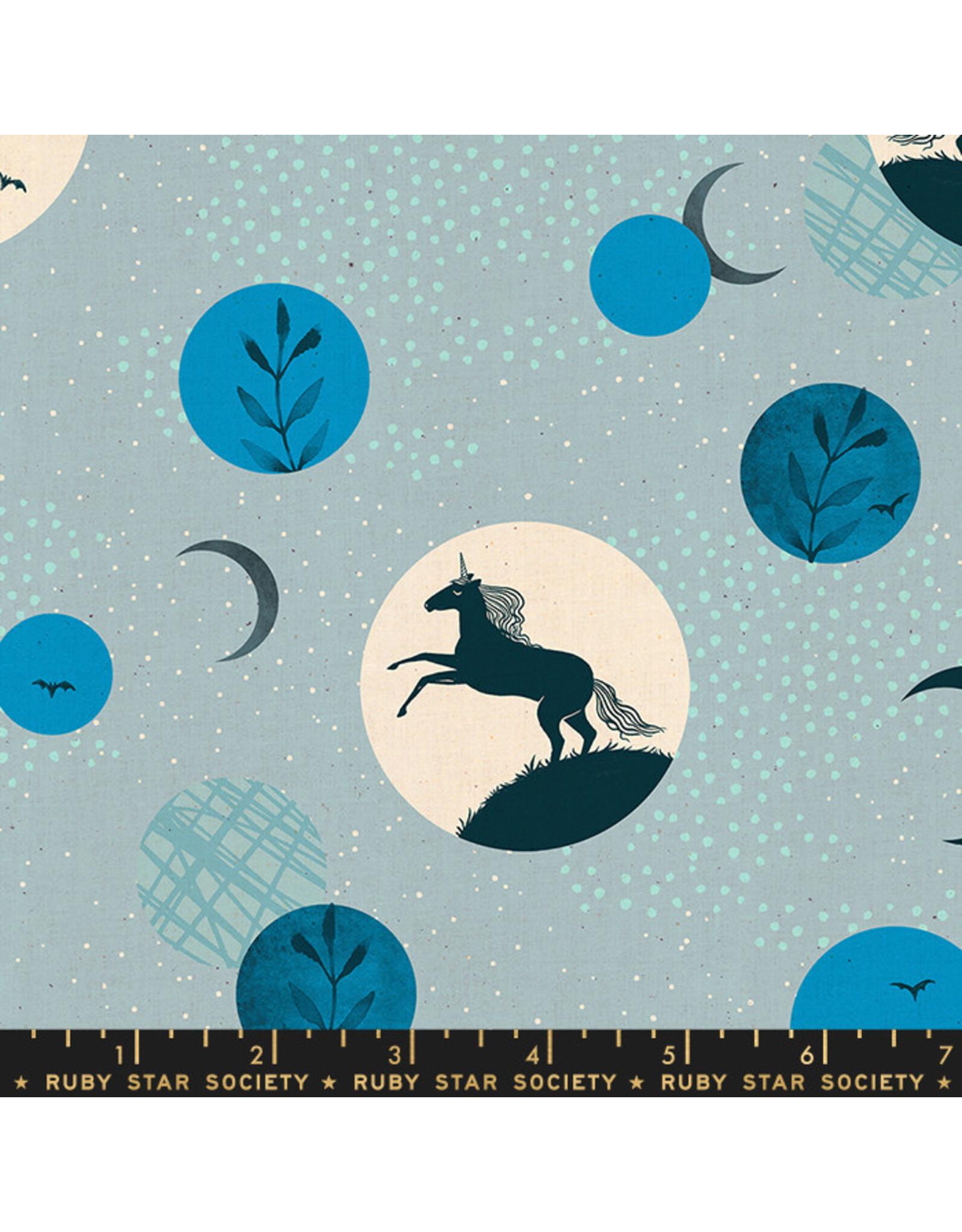 Ruby Star Society Crescent - Unicorn Moon Light Blue