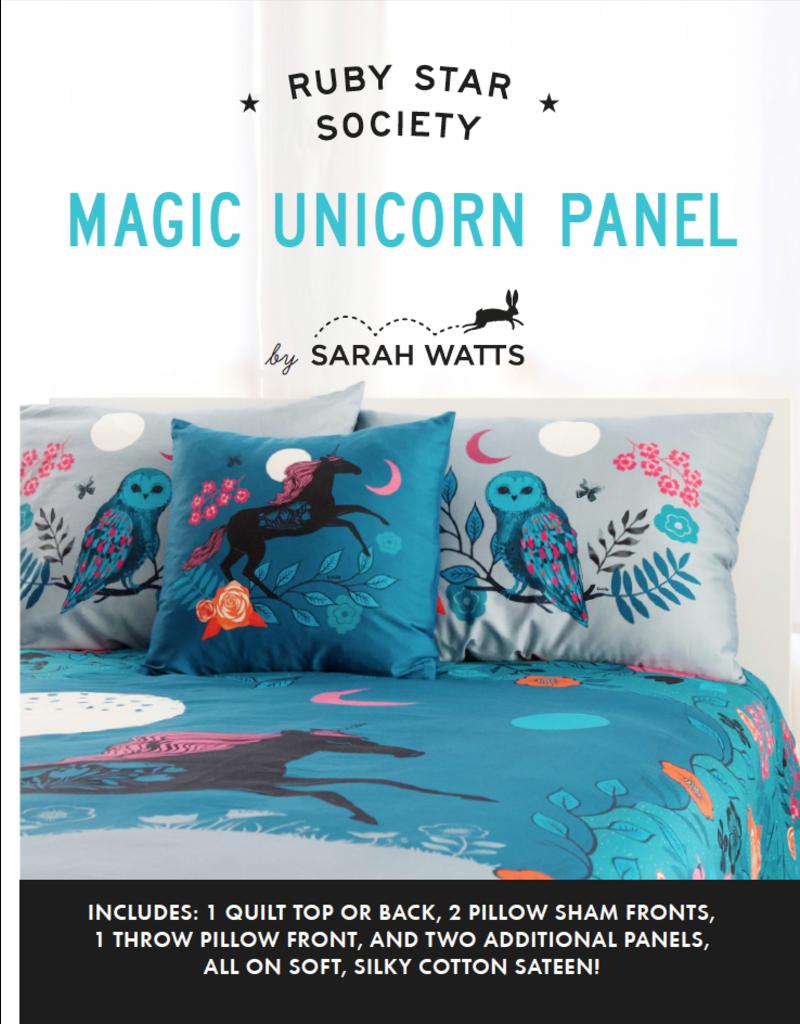 Ruby Star Society Crescent - Magic Unicorn Panel