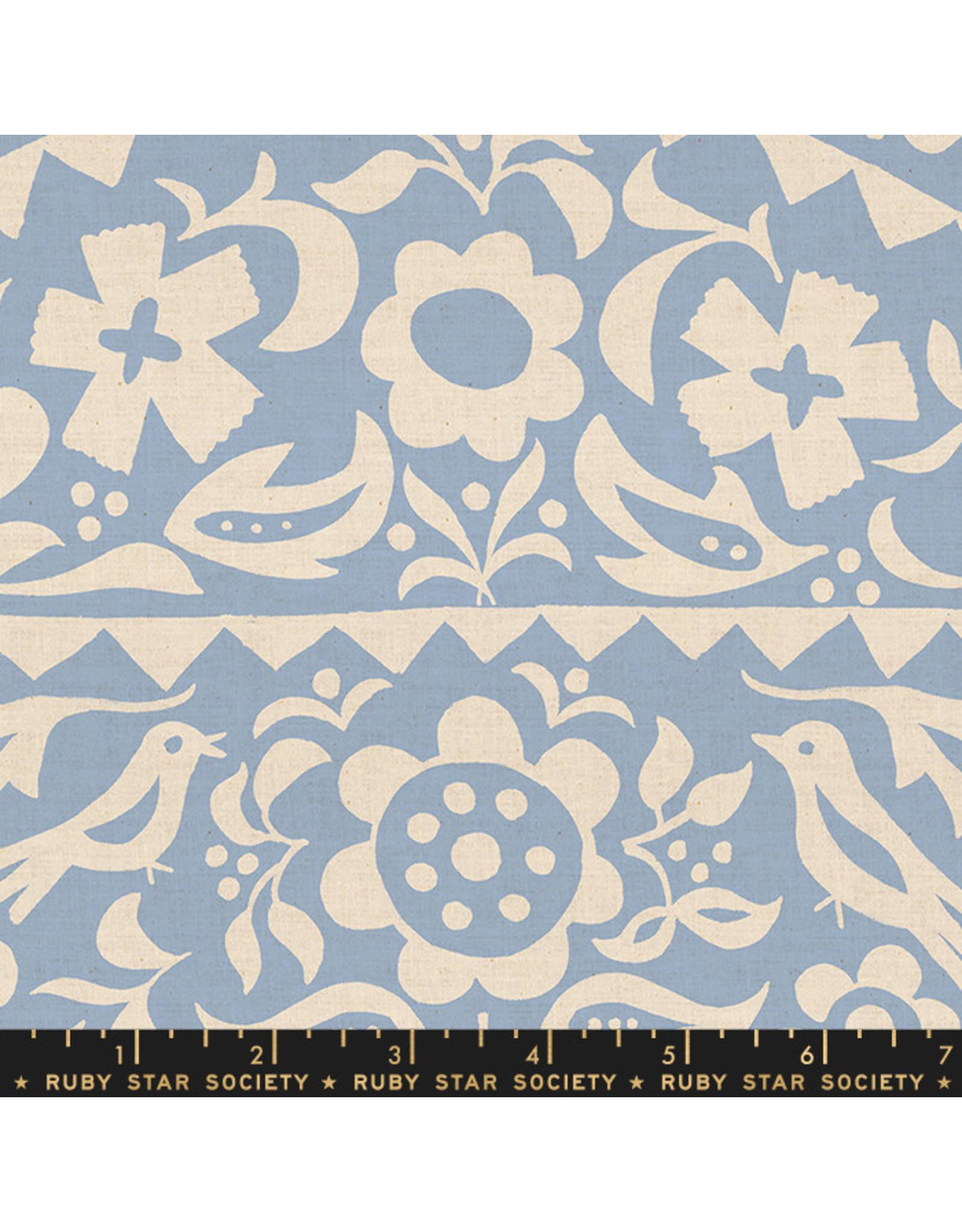 Ruby Star Society Alma - Market Floral Light Blue