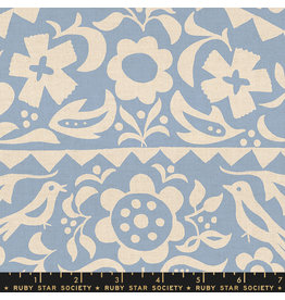 Ruby Star Society Alma - Market Floral Light Blue