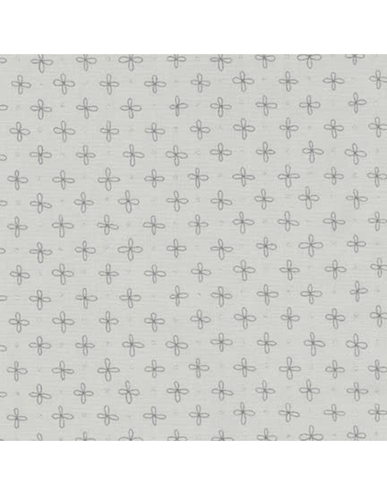 Robert Kaufman Wayside - Flower Dot Grey