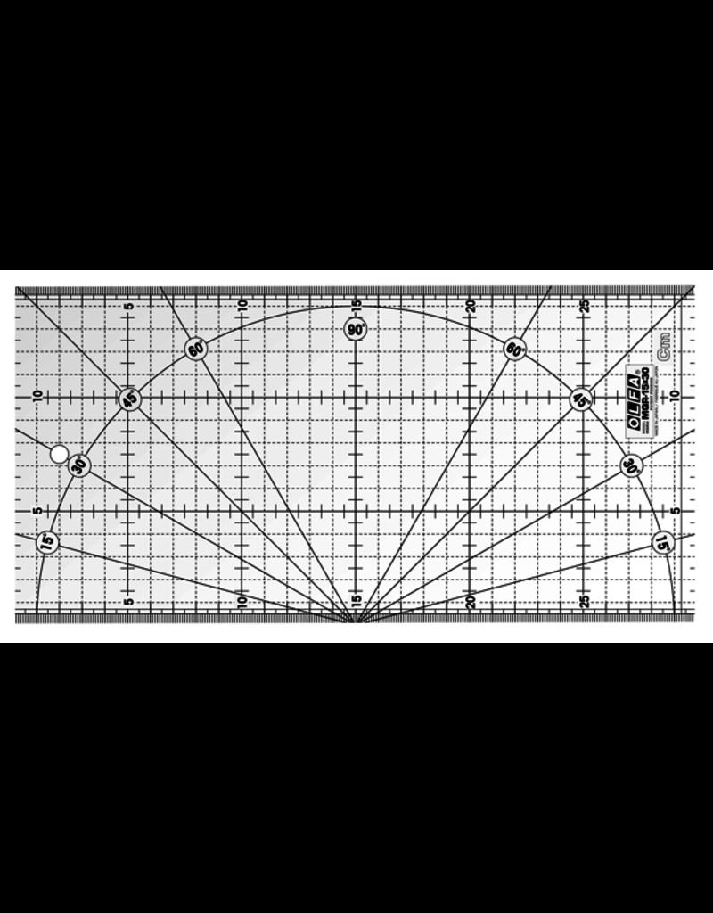 Olfa Quilt liniaal 15 x 30 cm
