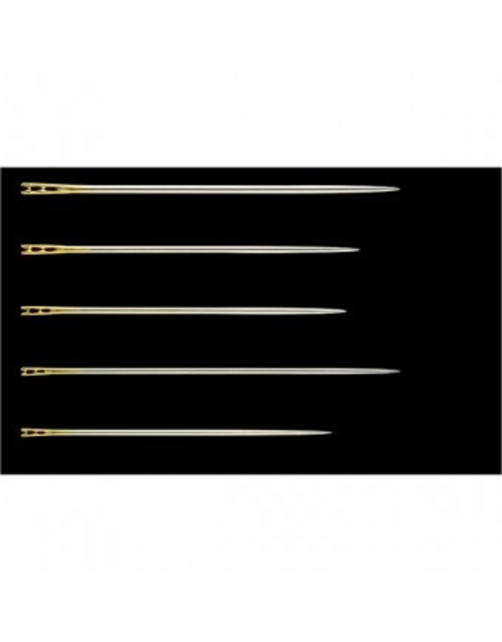 Clover Self Threading Needles - assorted