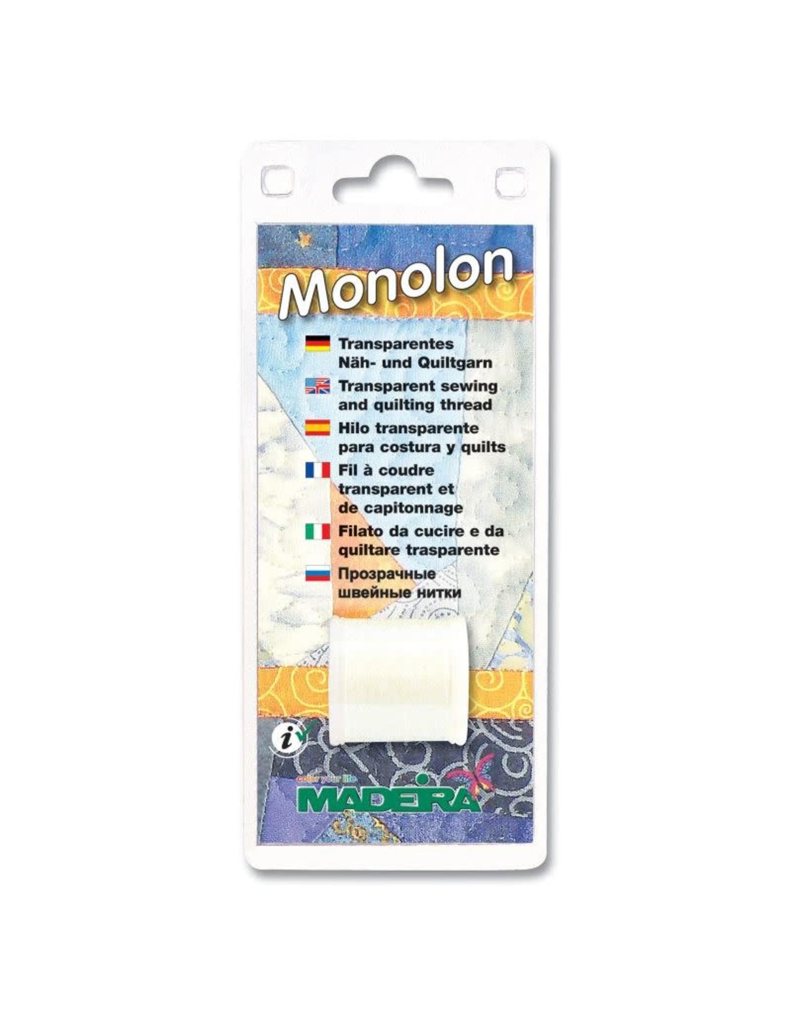 Madeira Monolon - transparant garen