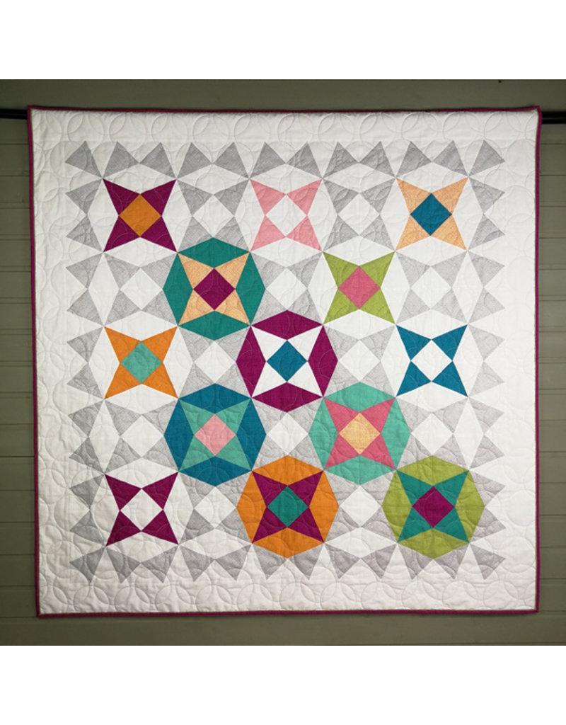 Quiltbites Nova Colores - quilt patroon