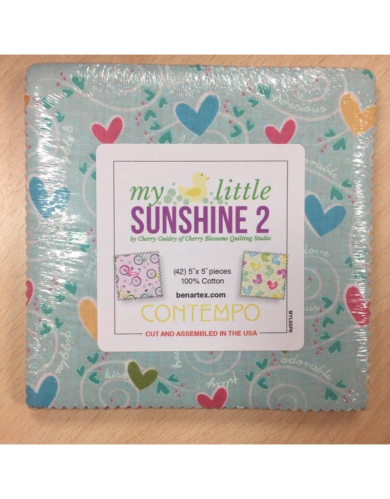 Contempo My Little Sunshine 2 - 5 x 5 pack