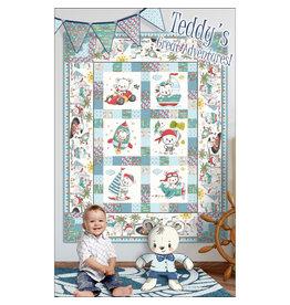 Quiltbites Stoffenpakket - Teddy's Great Adventures