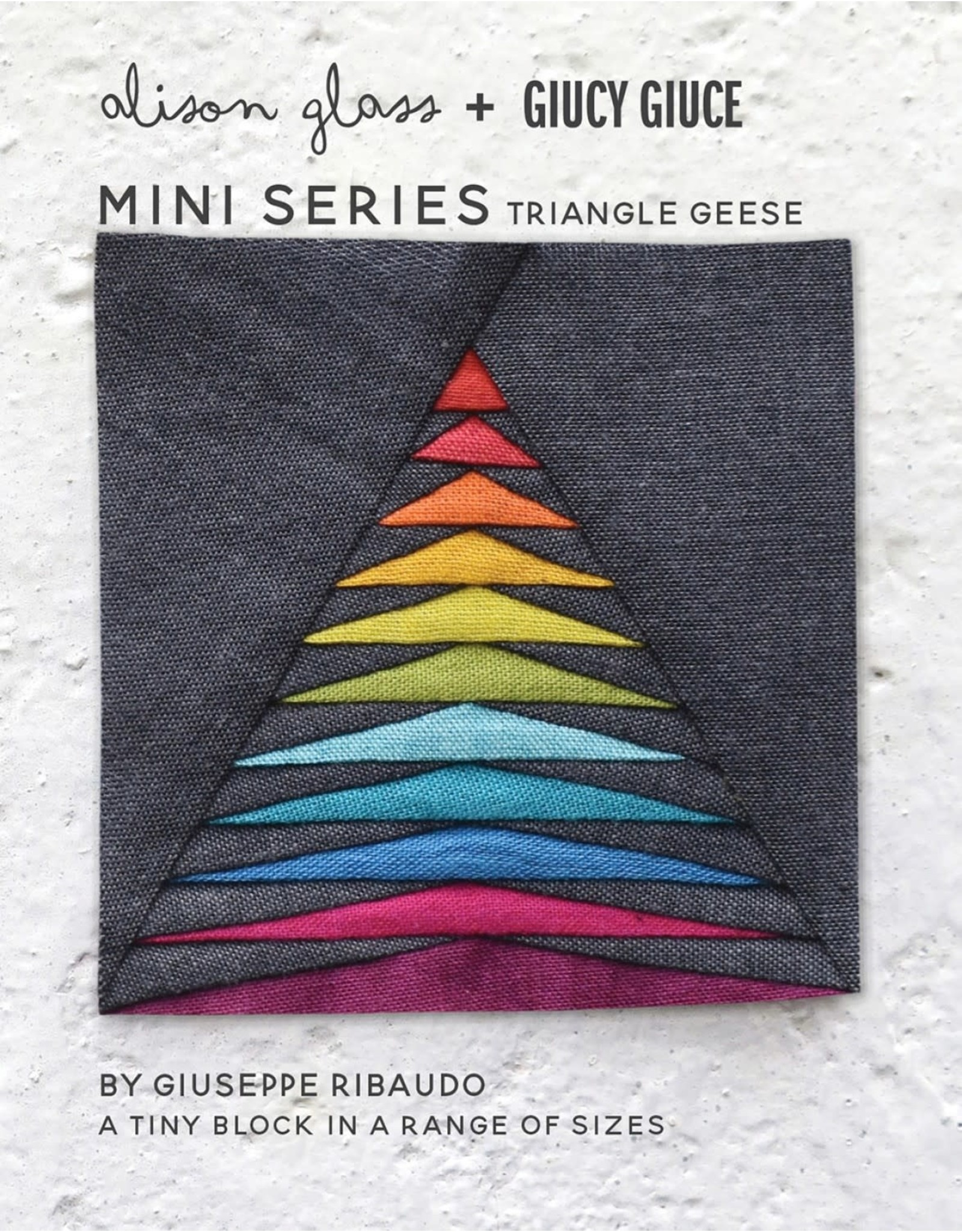 Mini Series - Triangle Geese