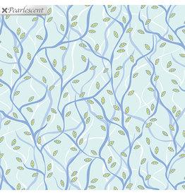 Contempo Nightingale - Branches Aqua