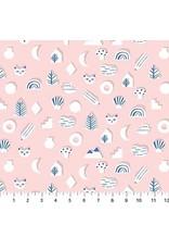 Figo Moonlit Voyage - Cats Cutouts in Pink
