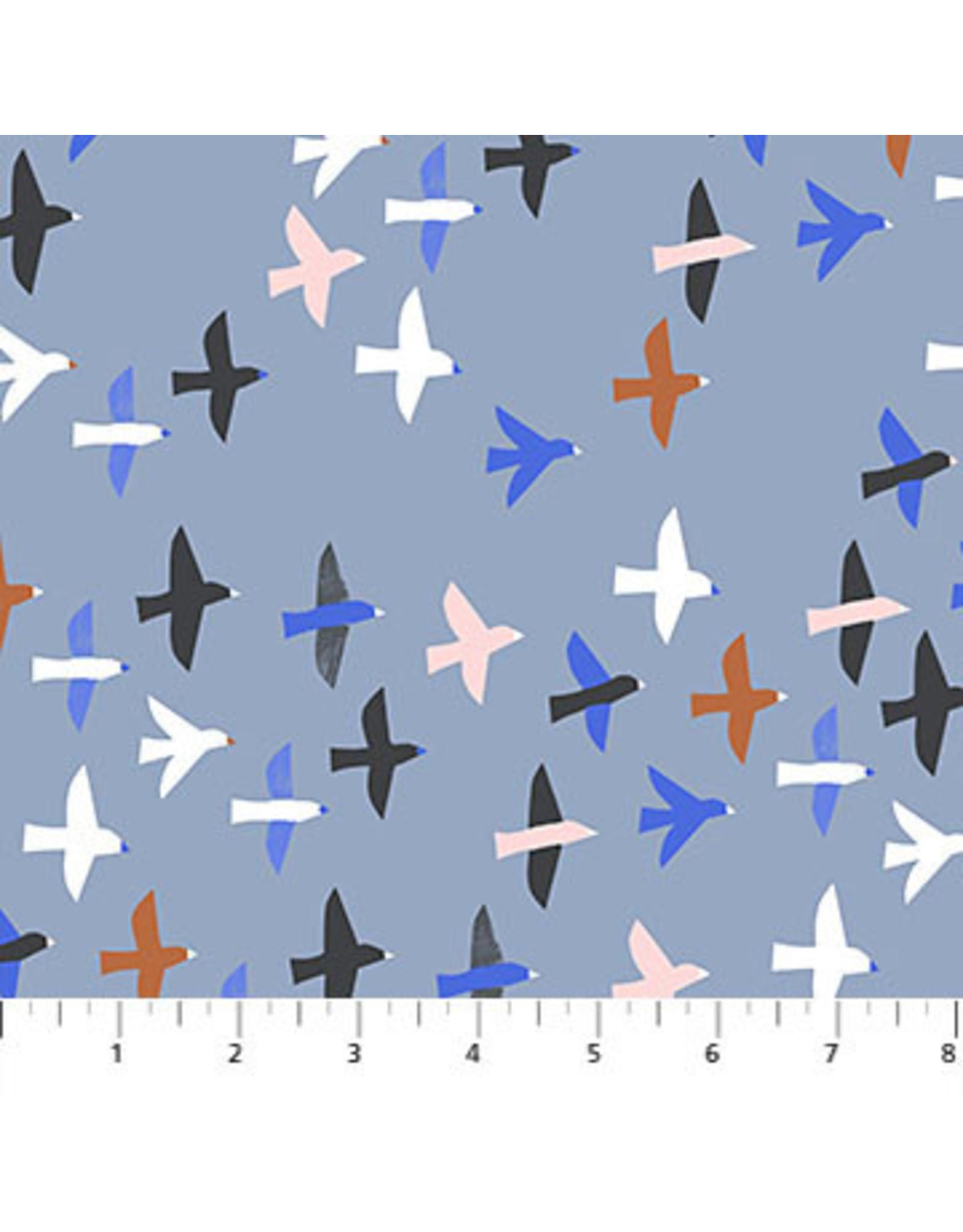 Figo Moonlit Voyage - Birds in Blue