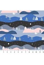 Figo Moonlit Voyage - Hills Stripe Multi