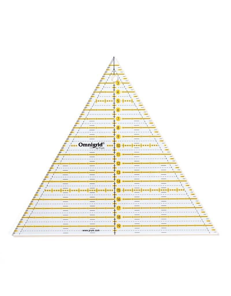 Prym Omnigrid - 60 graden driehoek - 20 cm