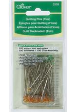 Clover Quilting Pins Fine - 100 stuks