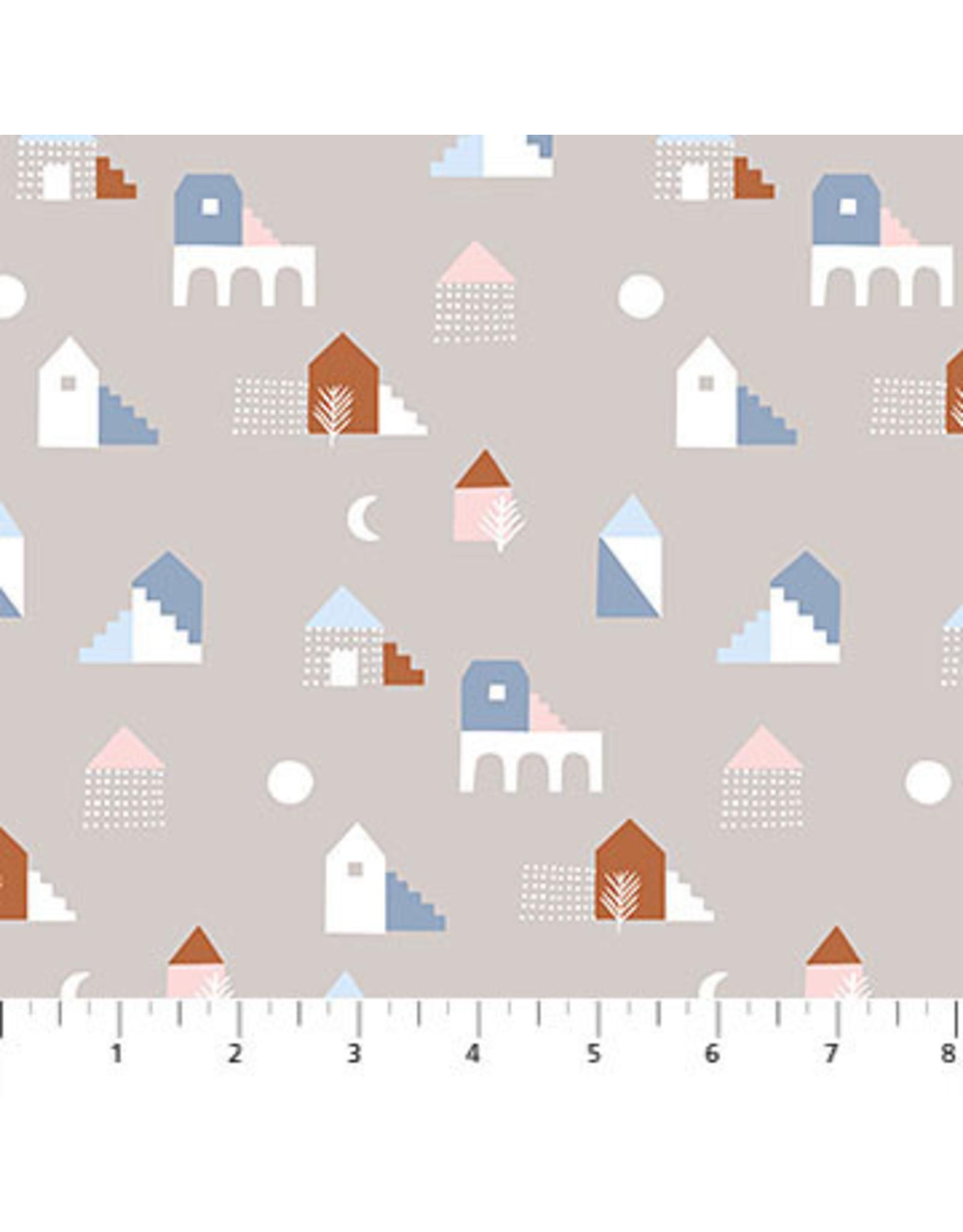 Figo Moonlit Voyage - Houses Taupe