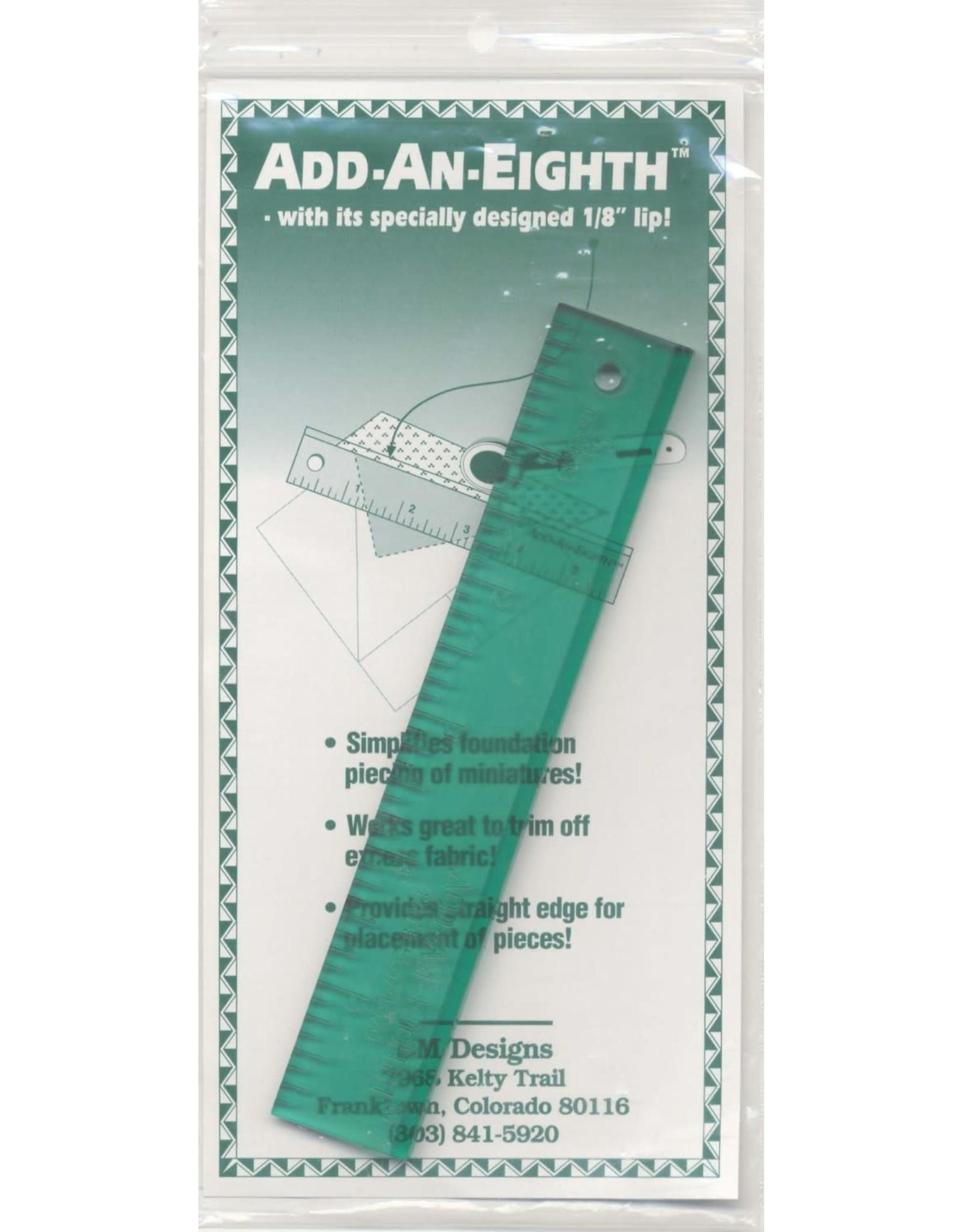 CM Designs Add-an-Eight Ruler - 1 x 6 inch