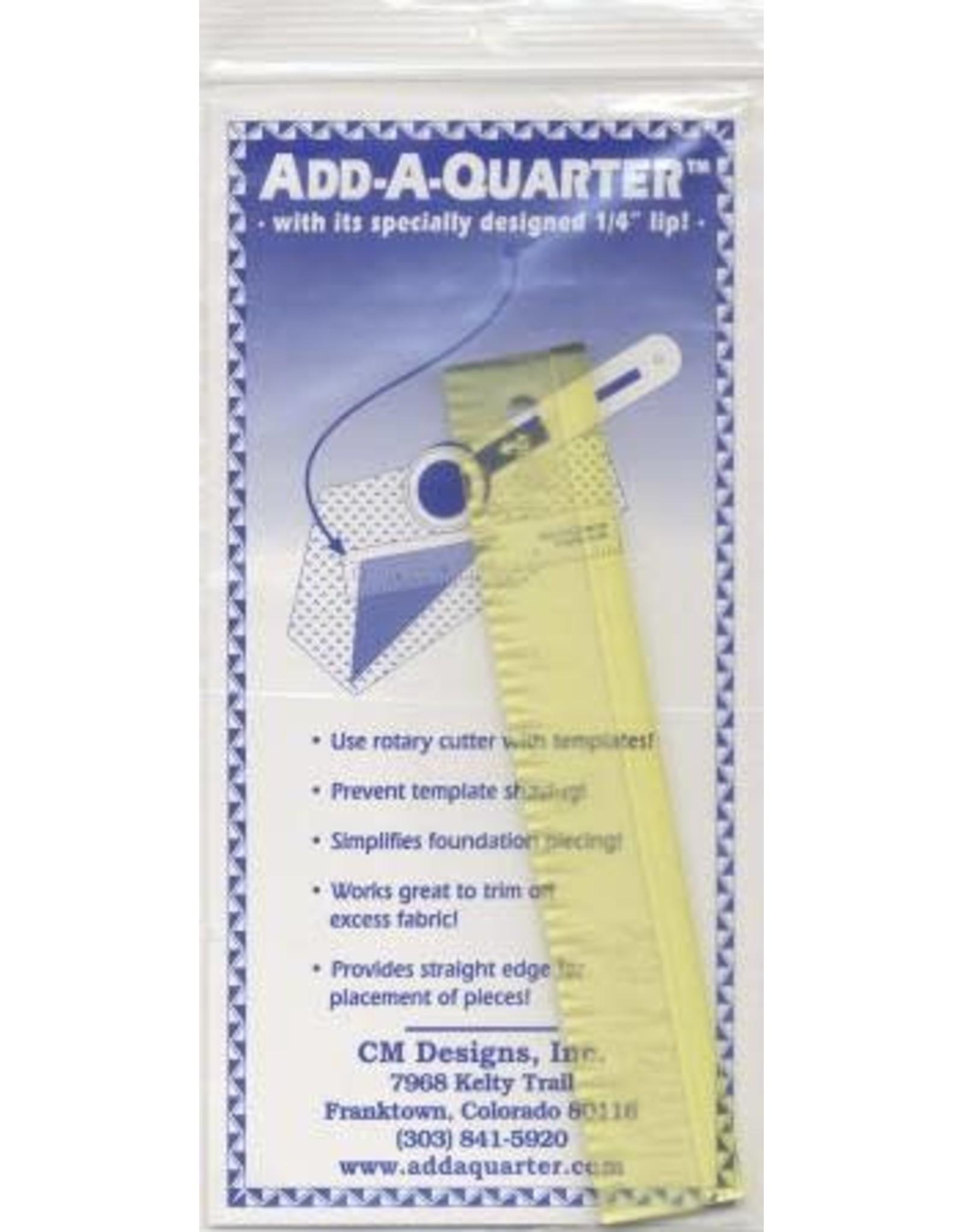 CM Designs Add A Quarter Ruler - 6 inch