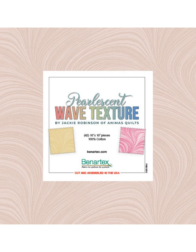 Benartex Pearlescent Wave Texture - 10 x 10 Pack