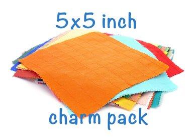 5 x 5 inch (Charm Pack)