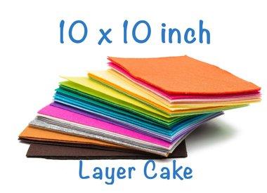 10 x 10 inch (Layercake)