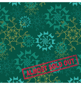 Contempo Merry Little Christmas - Snowflake Teal