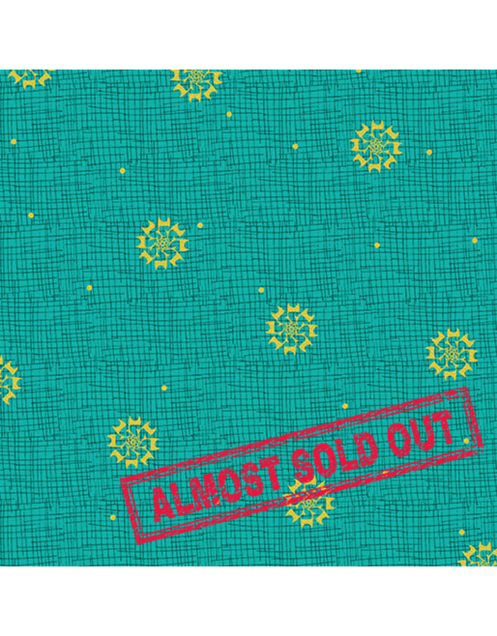 Contempo Merry Little Christmas - Christmas Star Turquoise