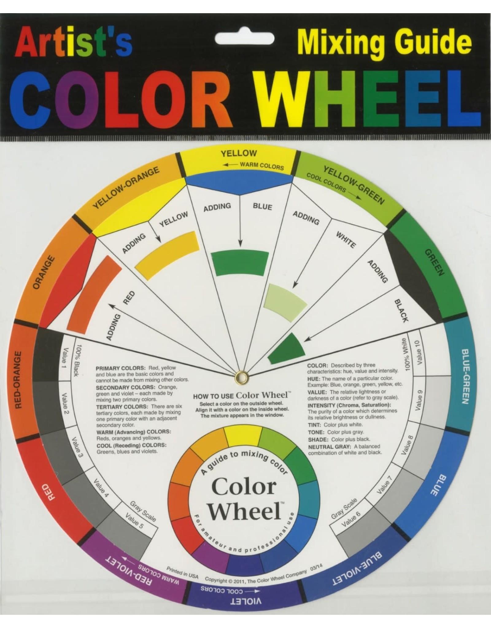 Diversen Kleurencirkel - Colorwheel - Groot
