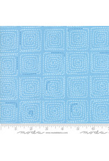 Moda Breeze - Stitched Light Blue