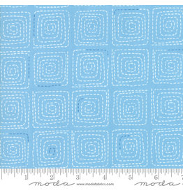 Moda Breeze - Stitched Light Blue