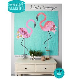 Sew Kind of Wonderful Mod Flamingos