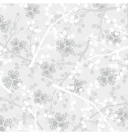 Contempo Jubilee Silver - Berries Light Gray