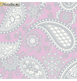 Contempo Jubilee Silver - Paisley Lavender