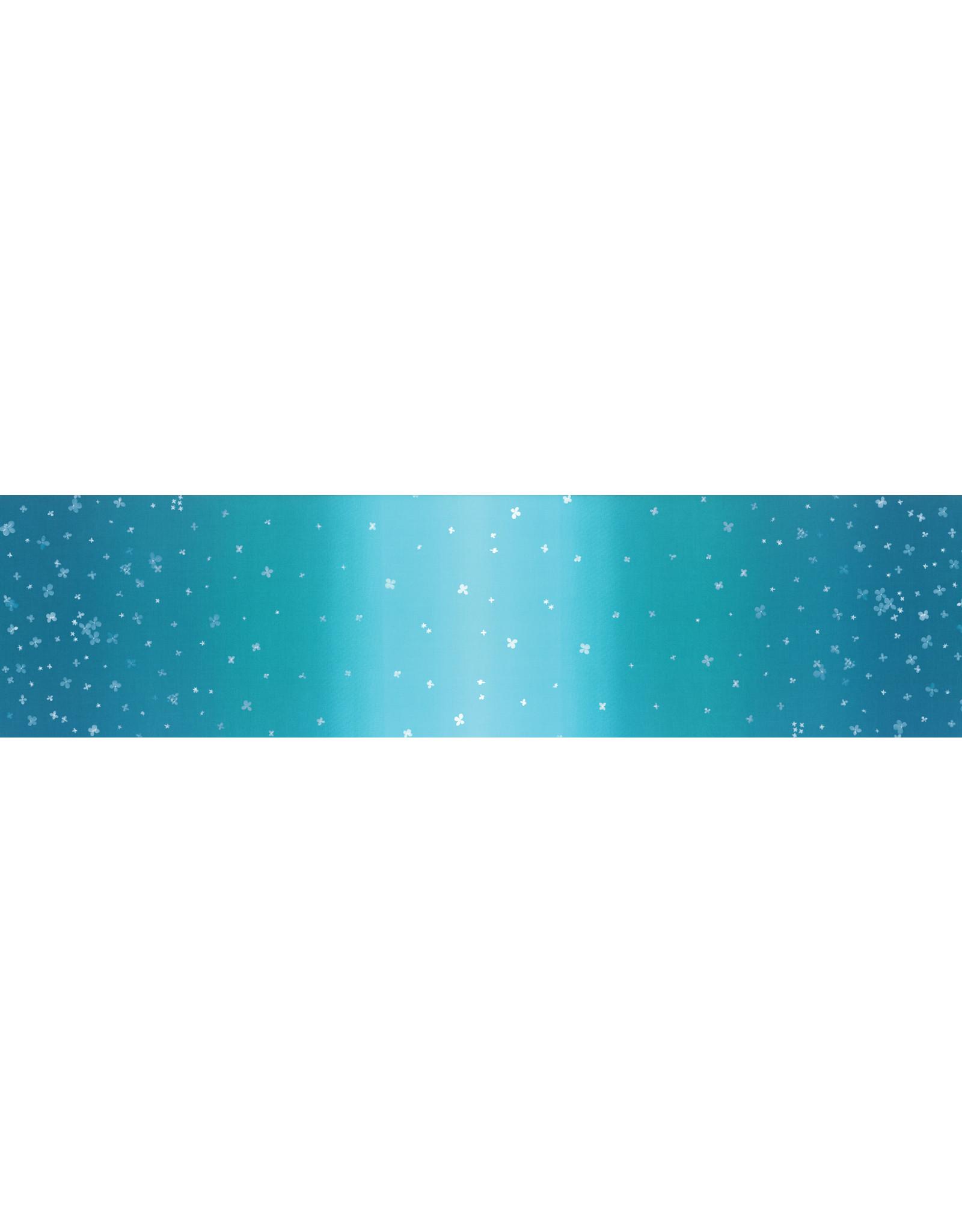 Moda Ombre Bloom - Turquoise
