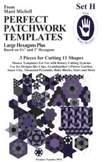 Perfect Patchwork Templates - Set H
