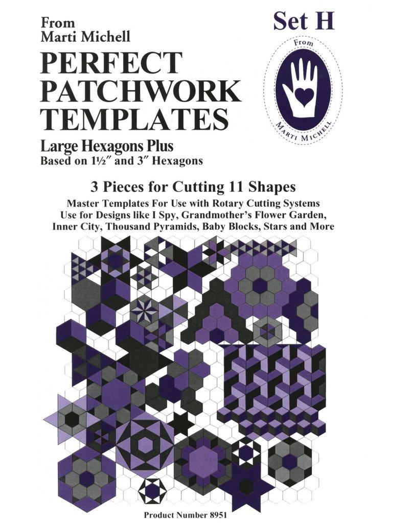 Perfect Patchwork Templates - Set H